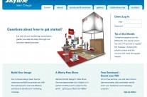 Skyline San Diego Website Concept